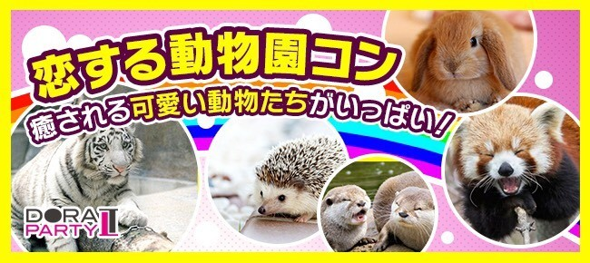 5/3 東武動物園☆GW特別企画!春の恋活!可愛い生き物に癒されながら出会える動物園デート×MISSIONコン