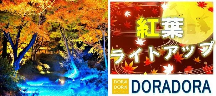 12/8 ライトアップ紅葉体験!情緒あふれる庭園デート!クリスマスまでに恋しよう!六義園紅葉合コン