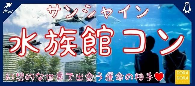 2/2 池袋 20代限定  インスタ映え間違えなし☆サンシャイン水族館デート×ゲーム感覚で出会いを楽しめる新感覚街コン