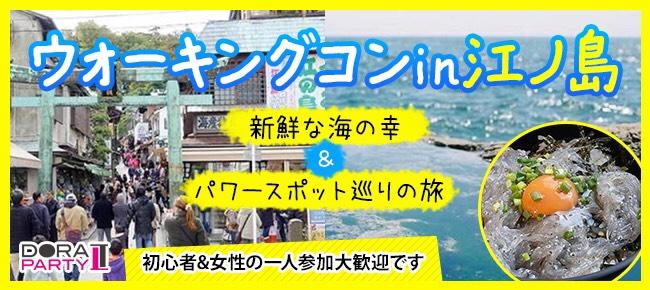 1/13 江ノ島 20~34歳限定! 2018年初開催♡江ノ島でグルメ食べ歩きや女性大人気のパワースポットを楽しめるカジュアルウォーキングコン